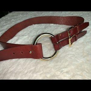 MK brown women's belt